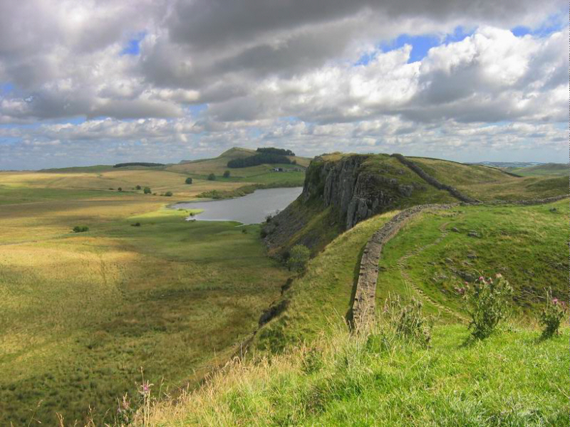 Hadrian s wall and the english lake district bike tour for A muralha de adriano