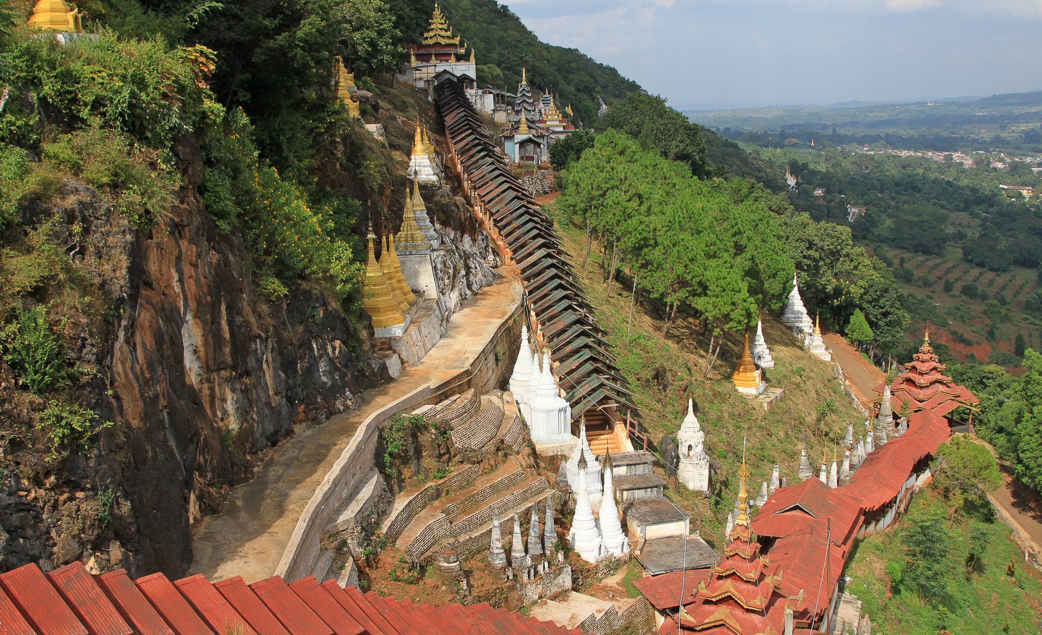 Pindaya Myanmar  city photos gallery : Pindaya, Myanmar. Photo via Flickr:Allan Grey
