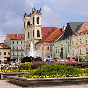 Banska Bystrica Main Square in Slovakia. Photo via Wikimedia Commons