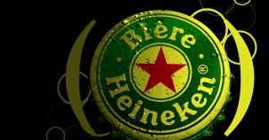 The famous Heineken beer