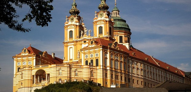 Abbey of Melk. Photo courtesy of Austrian National Tourist Office