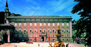 Residence Palace & Square in Salzburg. Photo courtesy of Austrian National Tourist Office