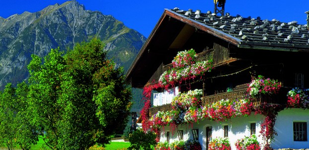 Gorgeous chalets in Styria Province in Austria. Photo courtesy of Austrian National Tourist Office