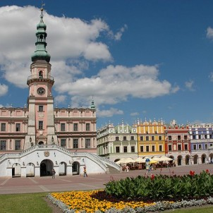 Zamość in Poland. Photo via Wikimedia Commons:Maciej Ukleja