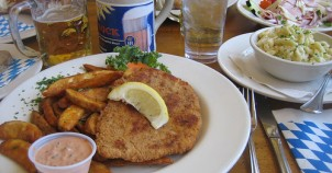 Schnitzel! Photo via Flickr:virtualern