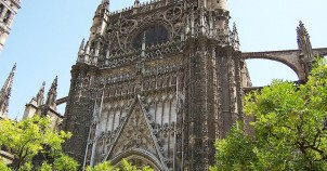 Sevilla Cathedral - photo courtesy of Wikimedia Commons:dubaduba